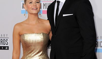 Actress Elisha Cuthbert and husband, pro hockey player Dion Phaneuf