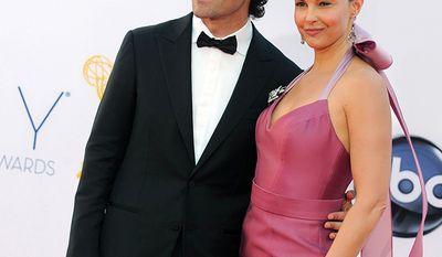 Actress Ashley Judd and husband, race car driver Dario Franchitti