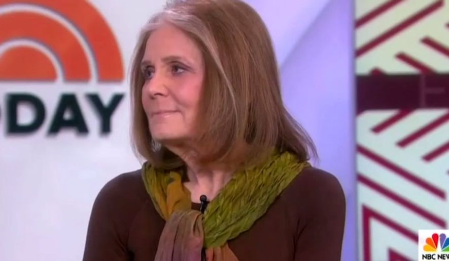 Feminist Gloria Steinem talks about her career on NBC, Feb. 25, 2019. (Image: NBC screenshot)