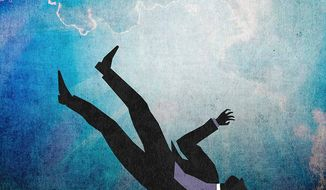 Fall From Grace Illustration by Greg Groesch/The Washington Times
