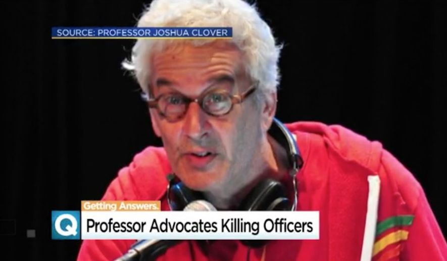 Administrators at the University of California, Davis, have condemned past remarks by professor Joshua Clover after comments he made about killing police officers were resurfaced by the school's student newspaper. (CBS 13)