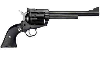 Ruger Blackhawk is a 6-shot, single-action revolver manufactured by Ruger. It is produced in a variety of finishes, calibers, and barrel lengths. Ruger introduced the Blackhawk in 1955. Chambered for the .357 Magnum, the Blackhawk was a simple and strong design, and it sold well. In 1956, as Smith & Wesson was introducing the new .44 Magnum, Ruger quickly developed a variant of the Blackhawk in the new cartridge. Ruger achieved wide popularity with this firearm in a hotly anticipated new cartridge, which was both cheaper and more readily available than the Smith & Wesson Model 29 revolver