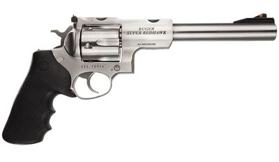 RUGER SUPER REDHAWK is a line of double-action magnum revolvers made by Sturm, Ruger beginning in 1987, when Ruger started making weapons using larger, more powerful cartridges such as .44 Magnum, .454 Casull, and .480 Ruger