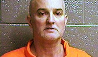 FILE - This undated photo provided by the Oklahoma Department of Corrections shows Shannon Kepler. An Oklahoma appellate court has upheld the manslaughter conviction and sentence for the ex-Oklahoma police officer in the fatal off-duty shooting of his daughter's black boyfriend. The Oklahoma Court of Criminal Appeals rejected appeals Thursday, Feb. 28, 2019, from Kepler, who was convicted and sentenced in 2017 to 15 years in prison.  (Oklahoma Department of Corrections via AP, File)