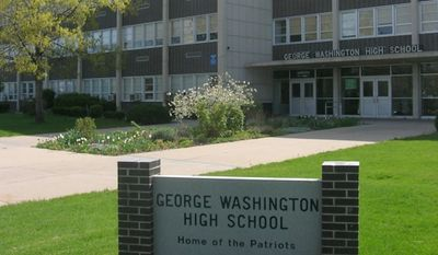 George Washington High School in east Denver (Wikipedia)