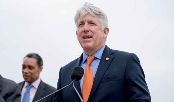 "Virginia Attorney General Mark Herring said Michael R. Bloomberg ""can't buy a donor's way into Virginia law enforcement."" (Associated Press/File)"