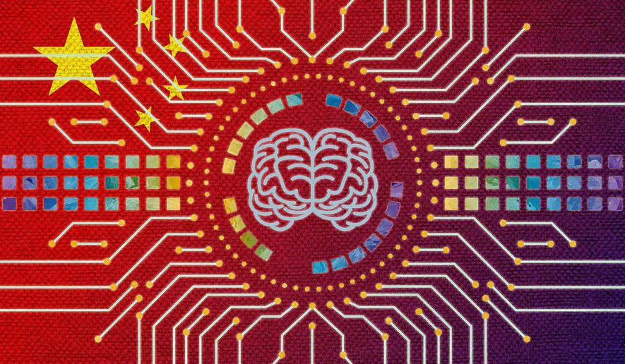 China Leading in Artificial Intelligence Development Illustration by Greg Groesch/The Washington Times