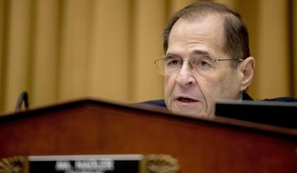 House Judiciary Committee Chairman Jerrold Nadler, New York Democrat, says talk of impeaching President Trump is premature. (Associated Press/File)