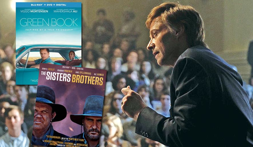 """Hugh Jackman is Gary Hart in """"The Front Runner,"""" now available in the Blu-ray format along with """"Green Book"""" and """"The Sisters Brothers."""""""