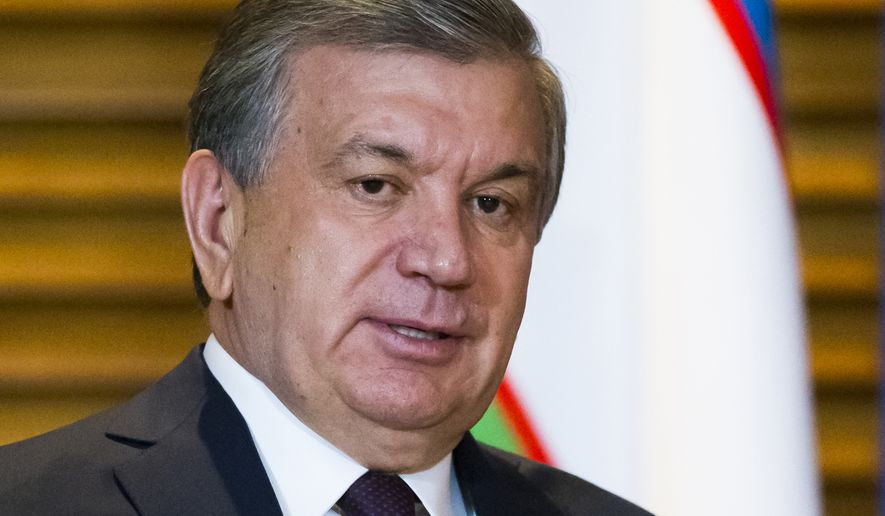 Uzbek President Shavkat Mirziyoyev has launched a much-vaunted string of reforms, but human rights groups say the country still has plenty of room for more. (Associated Press)