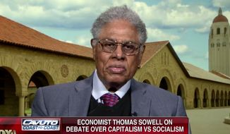 Famous economist Thomas Sowell appears on Fox Business Network to discuss socialism, March 5, 2019. (Image: Fox Business Network screenshot)