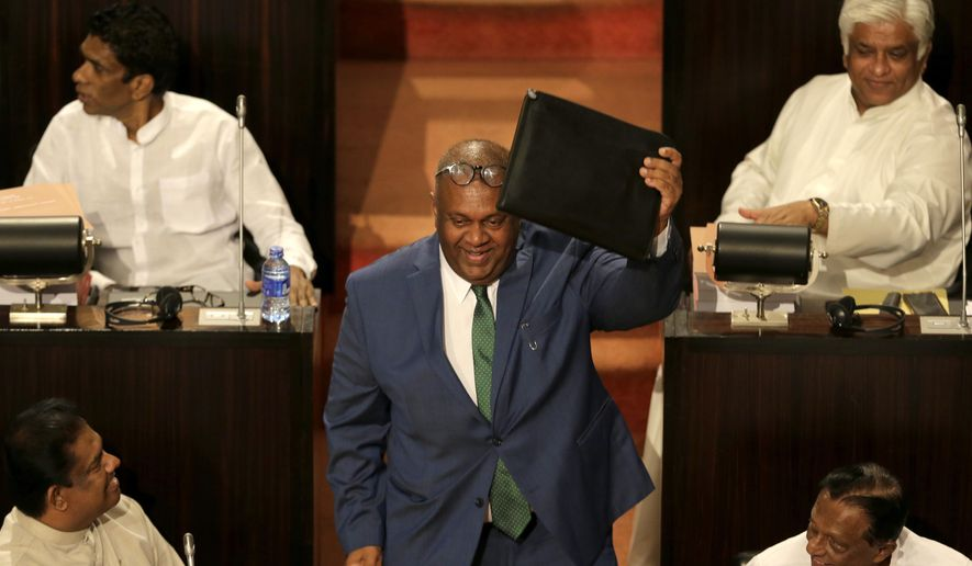 Sri Lanka government boosts budget ahead of elections