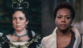 "Olivia Colman in an Academy Award-winning performance co-stars in ""The Favourite"" and Viola Davis co-stars in ""Widows,"" both available in the Blu-ray format."