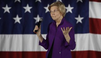Massachusetts Sen. Elizabeth Warren announced for the first time this week that she wants to scrap the Electoral College. (Associated Press)