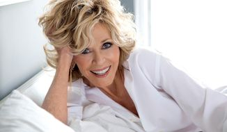 This undated photo provided by the National Women's Hall of Fame shows actress, author and political activist Jane Fonda, who is among the 10 members of the National Women's Hall of Fame Class of 2019, that was announced Friday, March 8, 2019, in New York City. (Courtesy of National Women's Hall of Fame Class via AP)