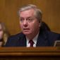 Senate Judiciary Committee Chairman Lindsey Graham, of South Carolina, speaks during a hearing of the Senate Judiciary Committee on oversight of Customs and Border Protection's response to the smuggling of persons at the southern border, Wednesday, March 6, 2019, in Washington. (AP Photo/Alex Brandon) ** FILE **