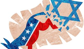 The Democrats' Jewish Problem Illustration by Greg Groesch/The Washington Times