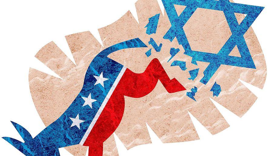 The Democrats' Jewish Problem Illustration by Greg Groesch/The Washington Times