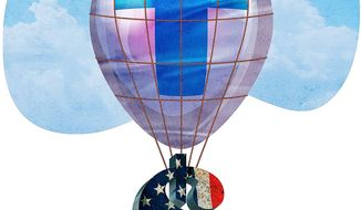 Economy Boost Illustration by Greg Groesch/The Washington Times