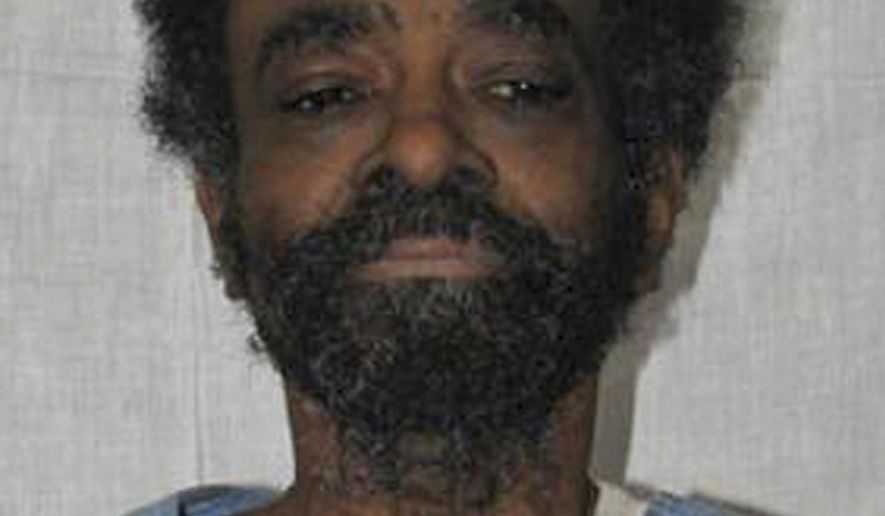 This undated booking photo provided by the The California Department of Corrections and Rehabilitation shows 69-year-old Ronald Bell an inmate at California State Prison Corcoran. Bell has died of apparent natural causes while awaiting execution. Corrections officials that Bell died Friday, March 8, 2019. (The California Department of Corrections and Rehabilitation via AP)