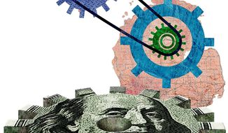 Removing Incentive Money from Job Creation Illustration by Greg Groesch/The Washington Times