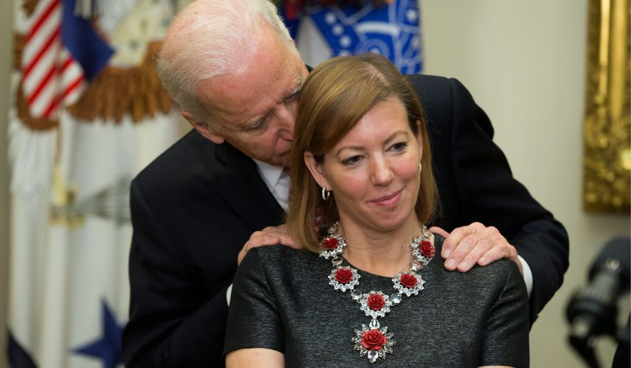 Former Vice President Joesph R. Biden hasn't officially entered the 2020 race for president, but his middle-of-the-road appeal to voters could clinch the nomination. (Associated Press)