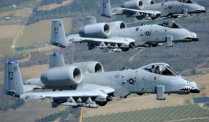 Air Force completes A-10 Thunderbolt re-winging to keep