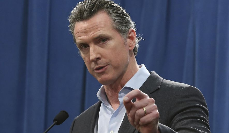 Calif. Gov. Gavin Newsom is expected to sign a moratorium on the death penalty in California Wednesday, March 13, 2019. (AP Photo/Rich Pedroncelli, File)