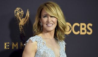 Actress Felicity Huffman at the 69th Primetime Emmy Awards in Los Angeles.  (Photo by Jordan Strauss/Invision/AP, File)