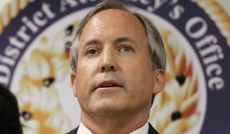Attorney General Ken Paxton's office says that as a state with sovereign powers under the Constitution, Texas can't be treated like a federal agency or Cabinet secretary who can be compelled to comply. (Associated Press)
