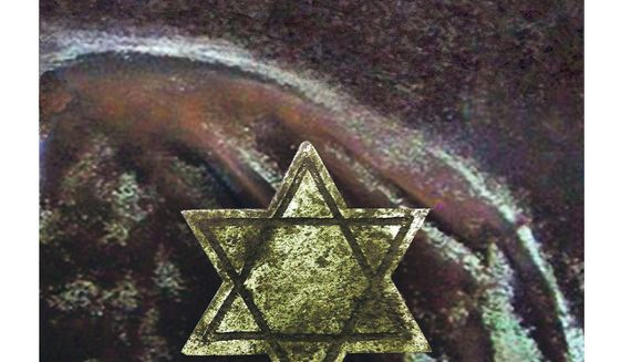 Illustration on obscuring anti-Semitism by Alexander Hunter/The Washington Times