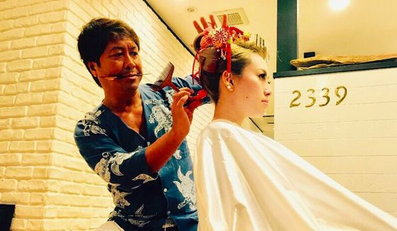 Jun Yoshida, a  hairdresser who helped originate the gyaru culture. (SPONSORED)