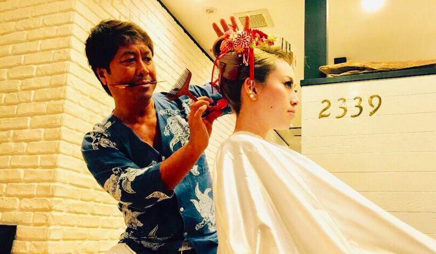 Jun Yoshida, a  hairdresser who helped originate the gyaru culture. (SPONSORED)
