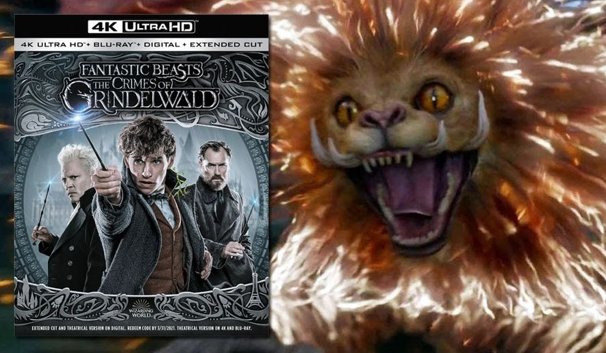 "A Zouwu appears in ""Fantastic Beasts: The Crimes of Grindelwald,"" now available on 4K Ultra HD from Warner Bros. Home Entertainment."