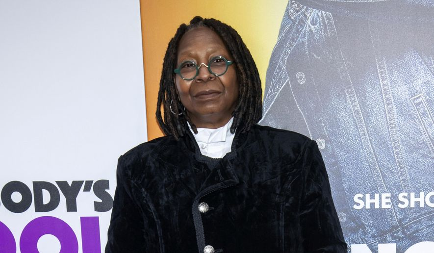 "In this Oct. 28, 2018, file photo, Whoopi Goldberg attends the world premiere of ""Nobody's Fool"" in New York. (Photo by Charles Sykes/Invision/AP, File)"