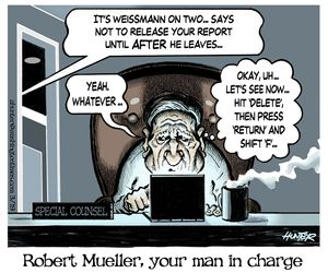 Robert Mueller, your man in charge