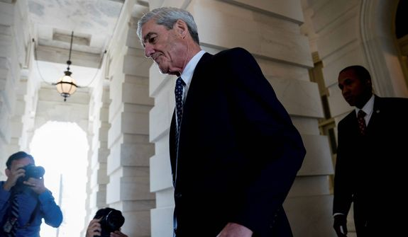 Special counsel Robert Mueller has been pursuing several leads on Russia collusion in his investigation of the 2016 presidential election. His probe began two years ago. (Associated Press)