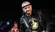 "In this May 27, 2007, file photo, Dick Dale, known as ""The King of the Surf Guitar,"" performs at B.B. King Blues Club in New York. Dale has died at age 81. His former bassist Sam Bolle says Dale passed away Saturday night, March 16, 2019. No other details were available. (AP Photo/Richard Drew, File)"
