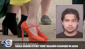 The Houston Public Library has apologized after failing to run a background check on a drag queen and child sex offender who participated in Drag Queen Storytime last year. (ABC 13)