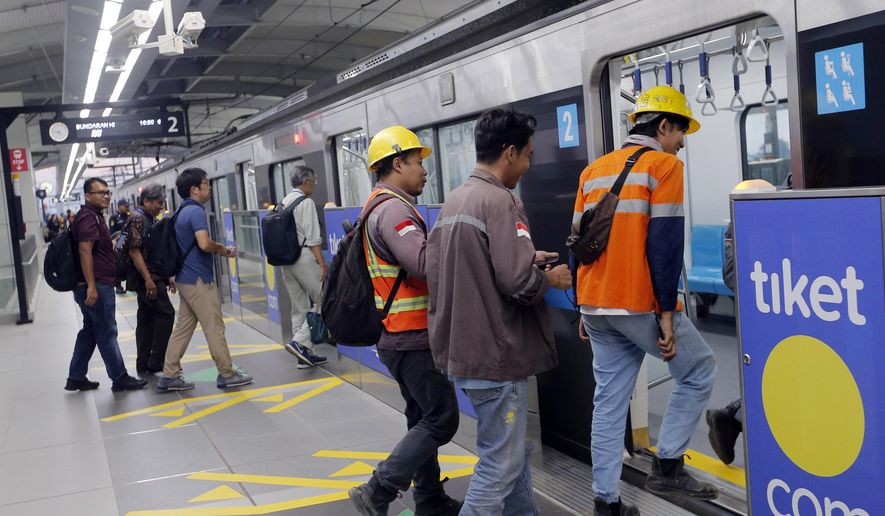 Jakarta S 1st Subway To Ease Frustration Sweat And Fumes