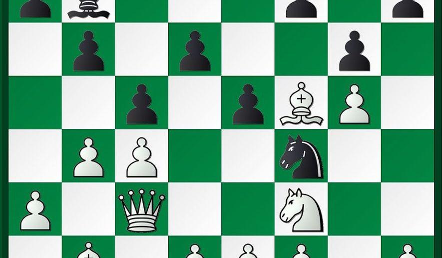 Polgar-Chiburdanidze after 13...g7-g6.