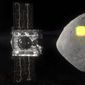 Scientists had thought the asteroid Bennu had wide, open areas to scoop up dirt and gravel. But on Tuesday, NASA announced the probe hasn't found any big spots for sampling. (ASSOCIATED PRESS)