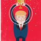 Illustration on a Trump victory in 2020 by Linas Garsys/The Washington Times