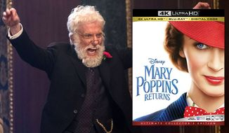 "Dick Van Dyke makes an appearance in ""Mary Poppins Returns,"" now available on 4K Ultra HD from Walt Disney Studios Home Entertainment."