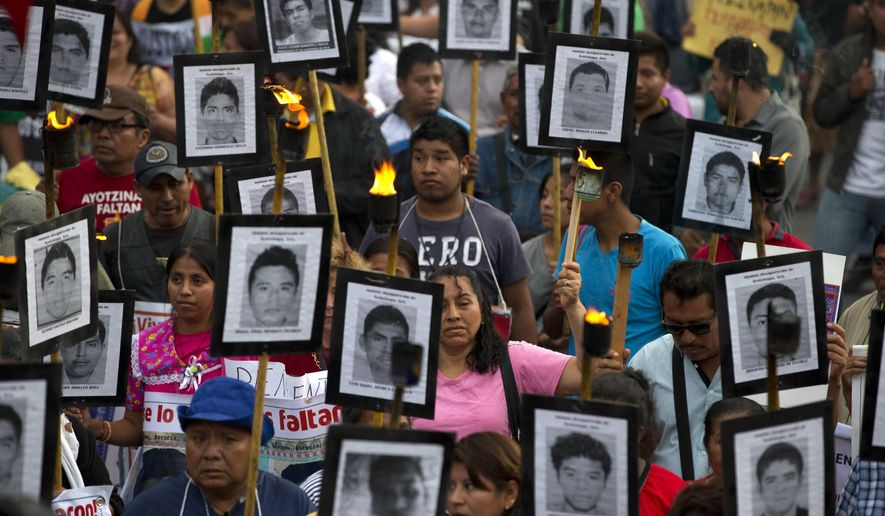No 'financial ceiling' in search for missing in Mexico