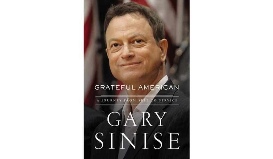 BOOK REVIEW: 'Grateful American' by Gary Sinise with Marcus