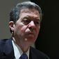 While serving as Kansas governor, Sam Brownback once signed legislation largely condemned by Muslim groups. (Associated Press)