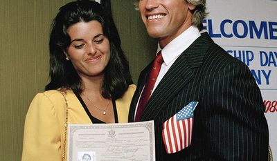 Arnold Schwarzenegger moved to the United States at age 21. He gained American citizenship in 1983.