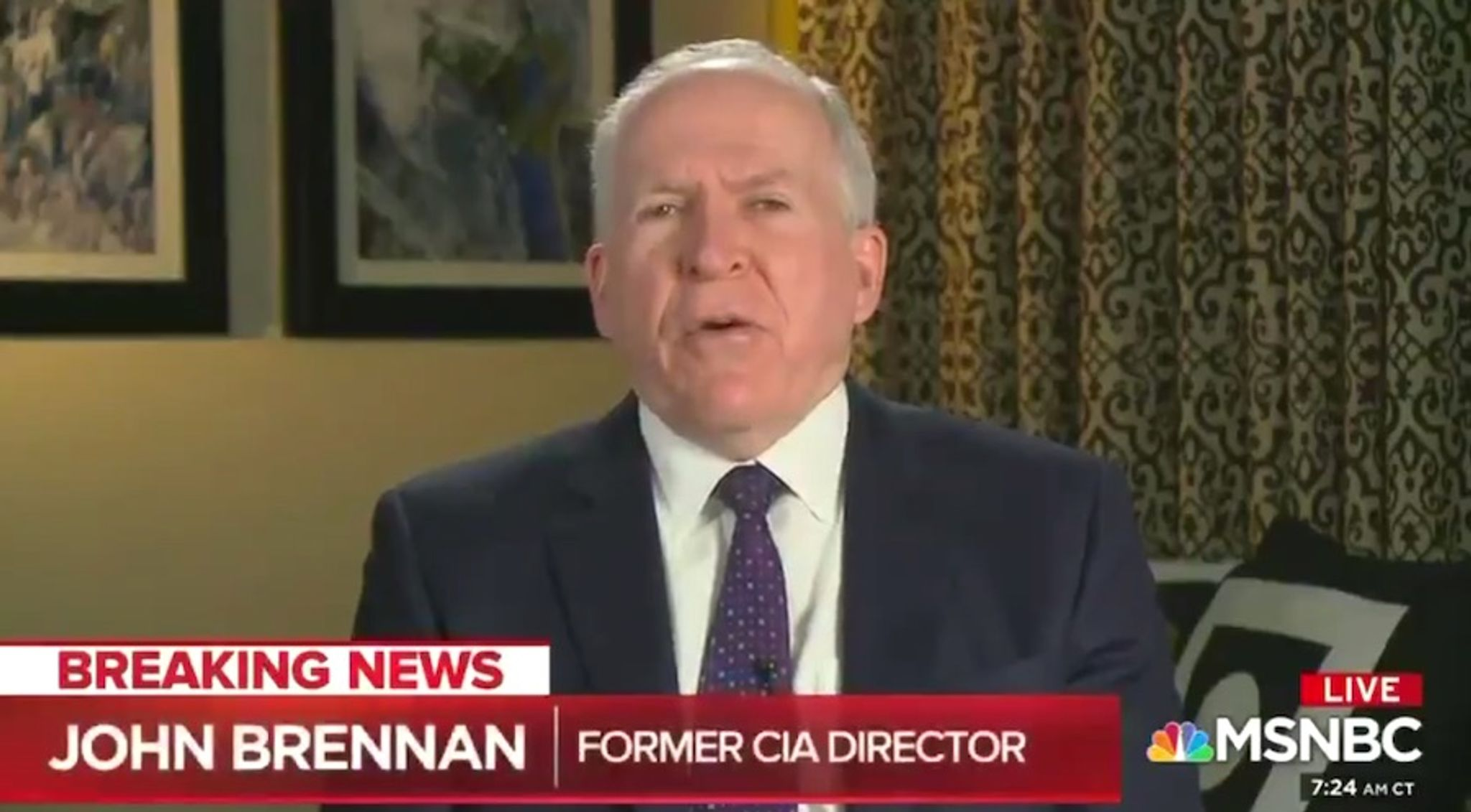 Ex-CIA chief offers mea culpa on Trump: 'I don't know if I received bad information'