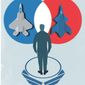 Illustration on choice and diversity in military procurement by Linas Garsys/The Washington Times